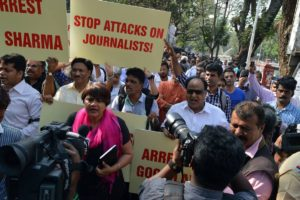 Attacks on journalistts